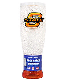 Oklahoma State Cowboys Crystal Pilsner Glass