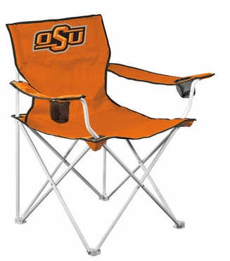 Oklahoma State Deluxe Adult Folding Logo Chair