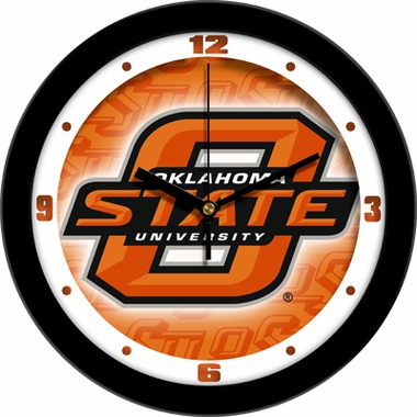Oklahoma State Dimension Wall Clock