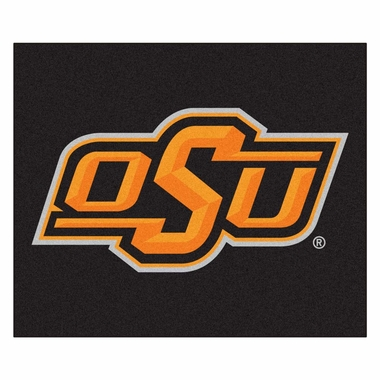 Oklahoma State Economy 5 Foot x 6 Foot Mat