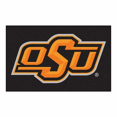 Oklahoma State Economy 5 Foot x 8 Foot Mat