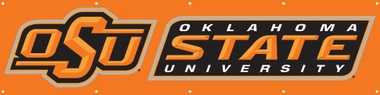 Oklahoma State Eight Foot Banner