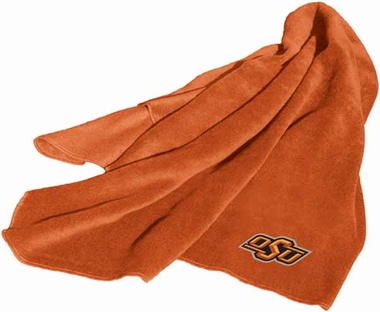 Oklahoma State Fleece Throw Blanket
