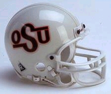 Oklahoma State Cowboys Replica Mini Helmet w/ Z2B Mask