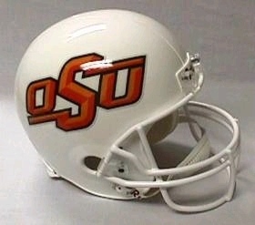 Oklahoma State Full Sized Replica Helmet
