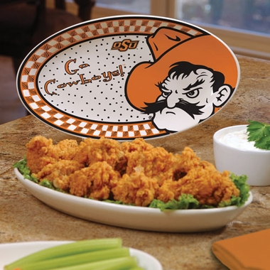 Oklahoma State Gameday Ceramic Platter