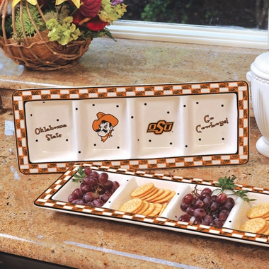 Oklahoma State Gameday Relish Tray
