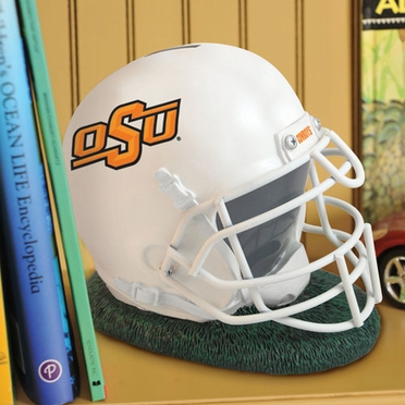 Oklahoma State Helmet Shaped Bank