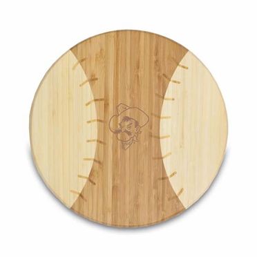 Oklahoma State Homerun Cutting Board