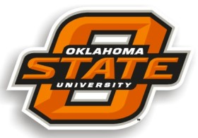 Oklahoma State Individual Car Magnet