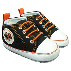 Oklahoma State Infant Soft Sole Shoe