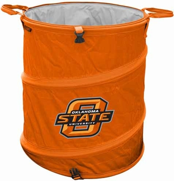 Oklahoma State Light Duty Trashcan