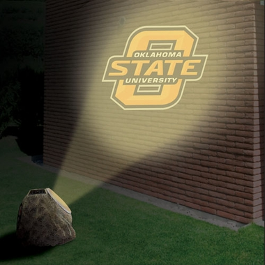 Oklahoma State Logo Projection Rock