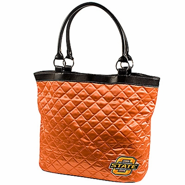 Oklahoma State Quilted Tote