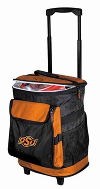Oklahoma State Rolling Cooler