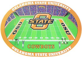 Oklahoma State Set of 4 Placemats