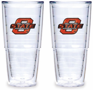 Oklahoma State Set of TWO 24 oz. Tervis Tumblers