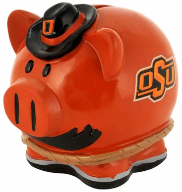 Oklahoma State Cowboys Piggy Bank - Thematic Small