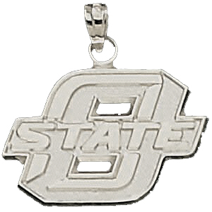 Oklahoma State Sterling Silver Pendant