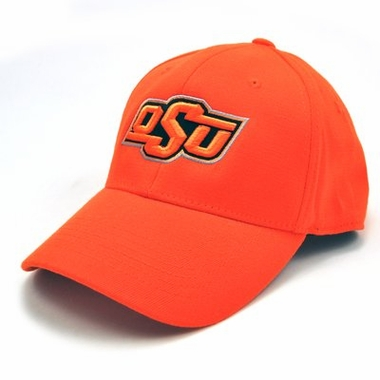 Oklahoma State Team Color Premium FlexFit Hat
