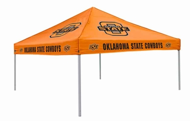 Oklahoma State Team Color Tailgate Tent