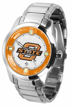 Oklahoma State Titan Men's Steel Watch