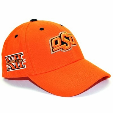Oklahoma State Triple Conference Adjustable Hats