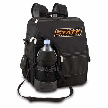 Oklahoma State Turismo Embroidered Backpack (Black)