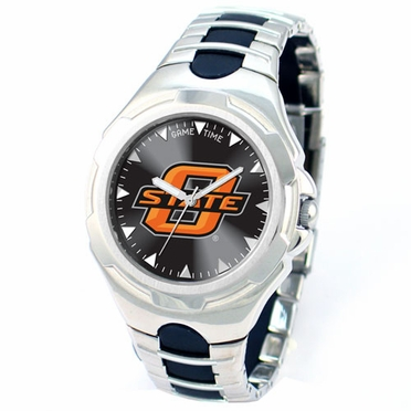 Oklahoma State Victory Mens Watch