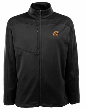 Oklahoma State Mens Viper Full Zip Performance Jacket (Team Color: Black)