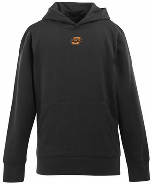 Oklahoma State YOUTH Boys Signature Hooded Sweatshirt (Team Color: Black)