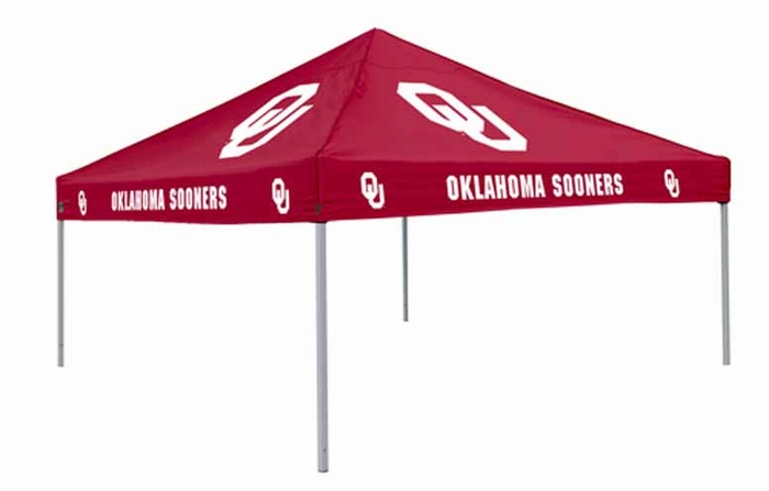 Oklahoma Team Color Tailgate Tent