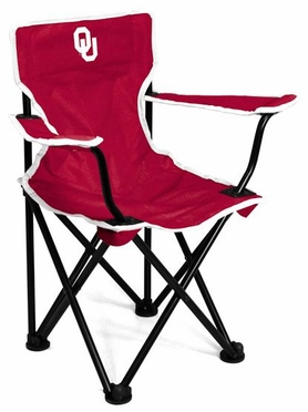 Oklahoma Toddler Folding Logo Chair