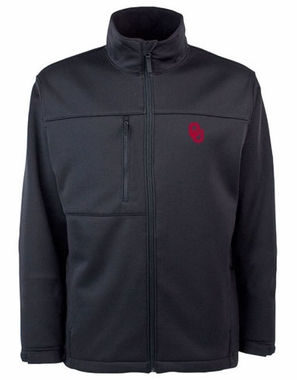 Oklahoma Mens Traverse Jacket (Team Color: Black)