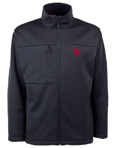 Oklahoma Mens Traverse Jacket (Team Color: Black) - Large
