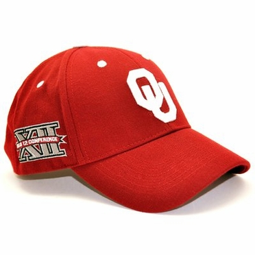 Oklahoma Triple Conference Adjustable Hats