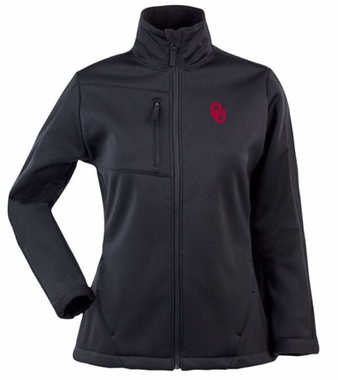 Oklahoma Womens Traverse Jacket (Team Color: Black)