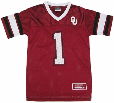 Oklahoma Youth Stadium Football Jersey