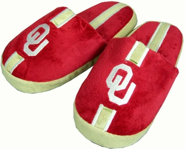 Oklahoma YOUTH Team Stripe Slide Slippers