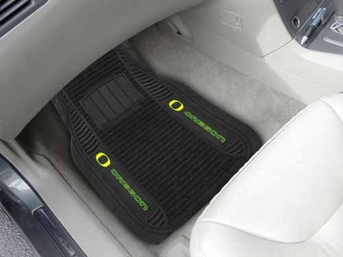 Oregon 2 Piece Heavy Duty DELUXE Vinyl Car Mats