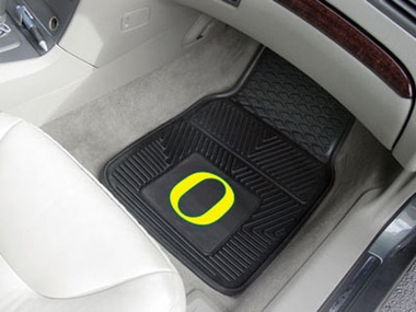 Oregon 2 Piece Heavy Duty Vinyl Car Mats
