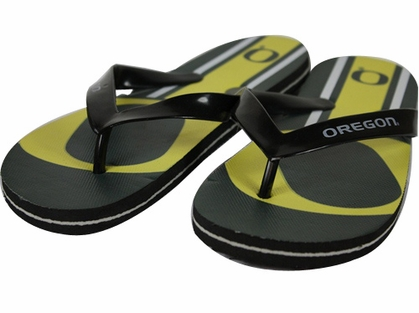 Oregon 2012 Unisex Big Logo Flip Flops