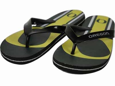Oregon 2012 Unisex Big Logo Flip Flops - Large
