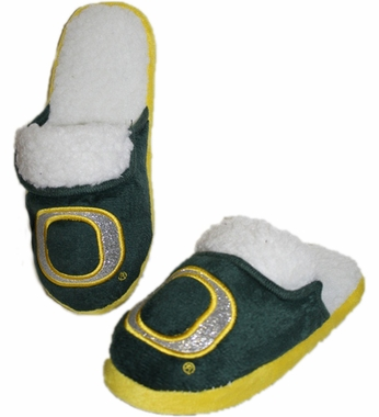 Oregon 2012 Womens Team Color Sherpa Glitter Slippers