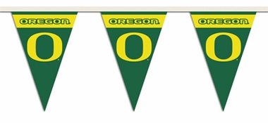 Oregon 25 Foot String of Party Pennants (P)