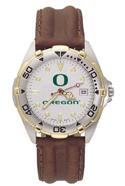 Oregon All Star Mens (Leather Band) Watch