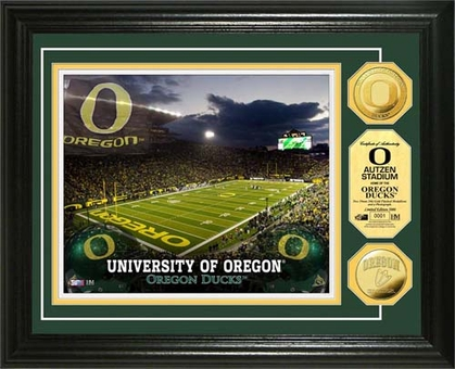 Oregon Ducks University of Oregon Gold Coin Photo Mint