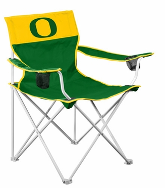 Oregon Big Boy Adult Folding Logo Chair