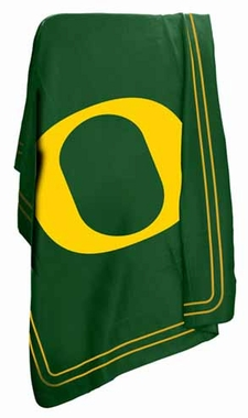 Oregon Classic Fleece Throw Blanket