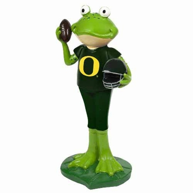 Oregon Ducks 12 Inch Frog Player Figurine